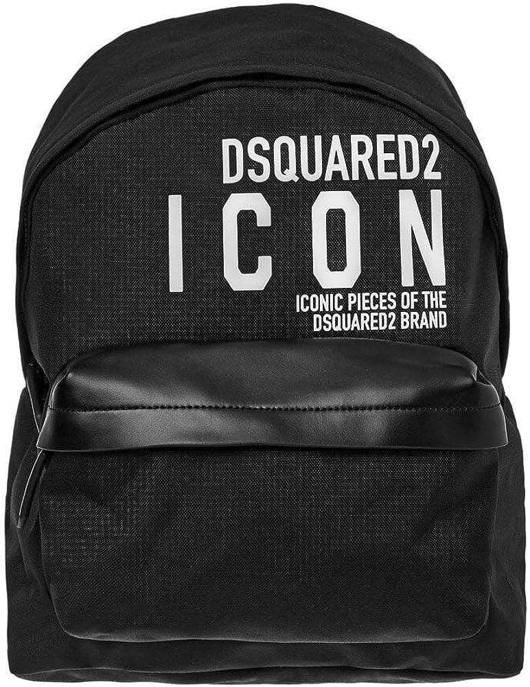 Dsquared 2 DSquared2 ICON Slogan Mochila de nailon