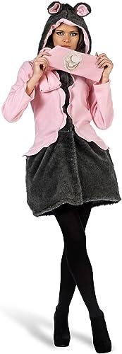 Limit Sport Kostüm Mantel und Schal Maus für Erwachsene, Größe S (ma682)
