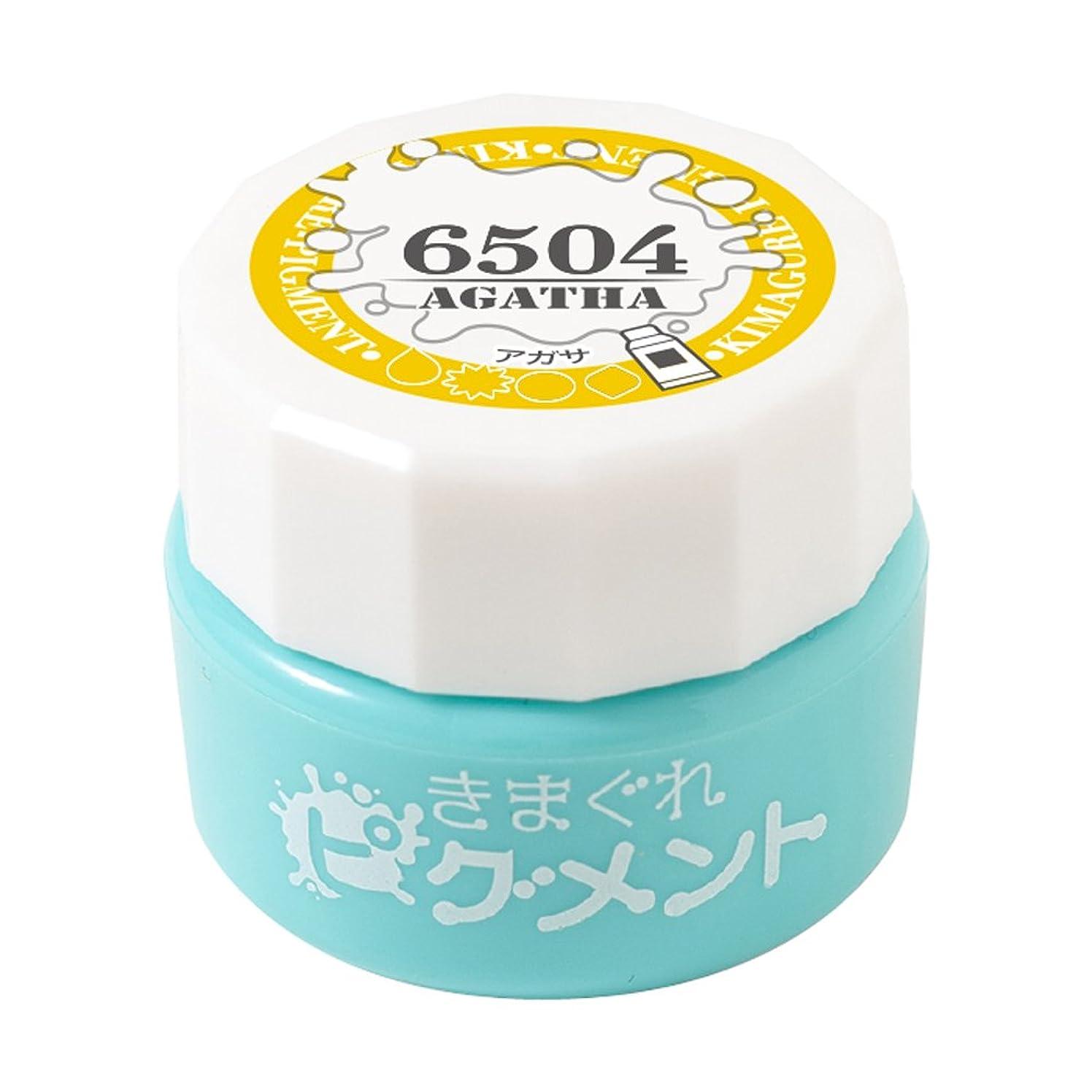 気性仲良し刺繍Bettygel きまぐれピグメント アガサ QYJ-6504 4g UV/LED対応