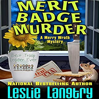 Merit Badge Murder cover art