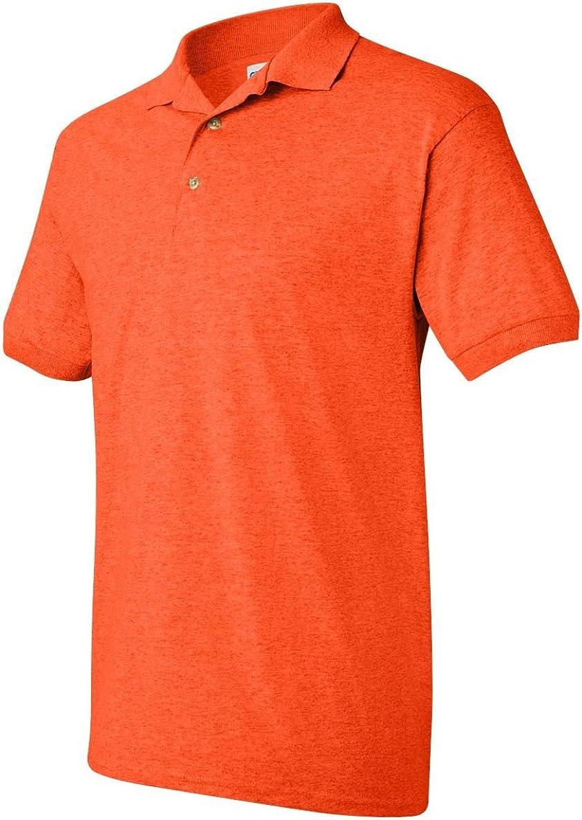 DryBlend Jersey Sport Shirt, Color: Orange, Size: XX-Large