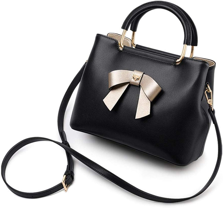 Wasserdichte Outdoor-Holdall, Large Capacity Soft Leather Travel Weekend Top Handle Shoulder Bag,schwarz,24.7cm12cm19.5cm B07MGGWBCM