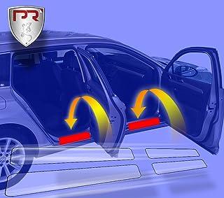PR Folia Einstiegsleisten für Golf 7 / VII Limousine (Typ AU ab 10/2012) passend, Steinschlagschutzfolie, Schutzfolie und Autofolie für Türeinstiege, Lackschutzfolie in Transparent