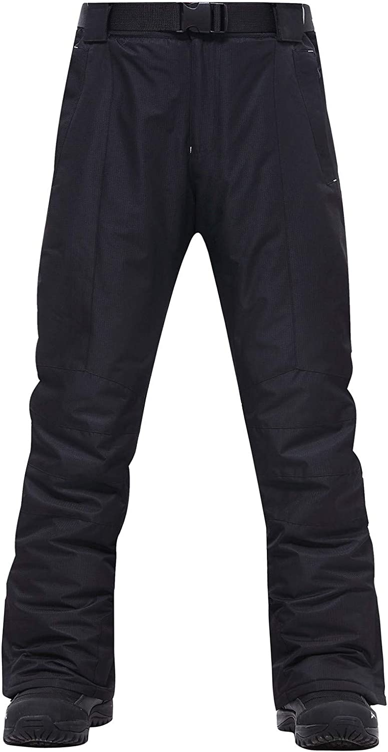 Fankle Women's Snow Bib Overalls Waterproof Insulated Snowboard One Piece Ski Snow Pants Suit Trousers with Pockets