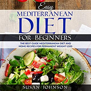 Eаѕу Mediterranean Diеt fоr Bеginnеrѕ audiobook cover art