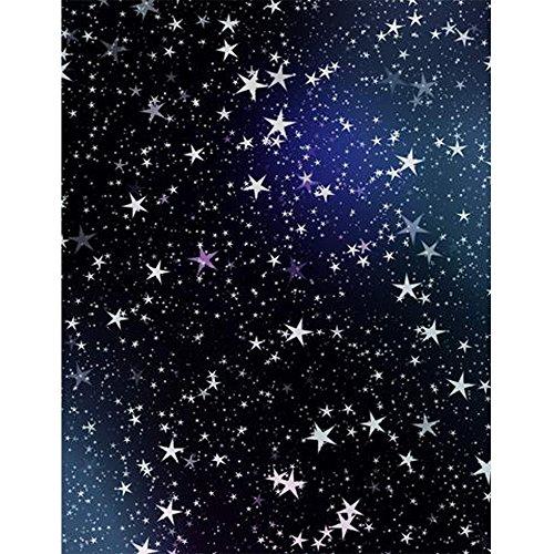 5x 7ft azul oscuro cielo nocturno estrellas fondo tela niños Kids cumpleaños fotografía telón de fondo Estudio Foto shooting papel pintado