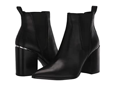 Steve Madden Knoxi Bootie (Black Leather) Women