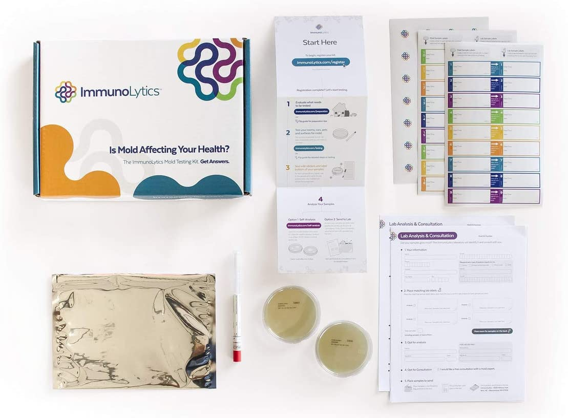 sale ImmunoLytics DIY Mold Test Kit for Excellence Profession Use Easy to - Home