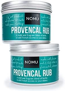 NOMU Herbs de Provence Rub (2-pack | 3.17oz) | MSG & Gluten Free, Non-GMO, Non-Irradiated