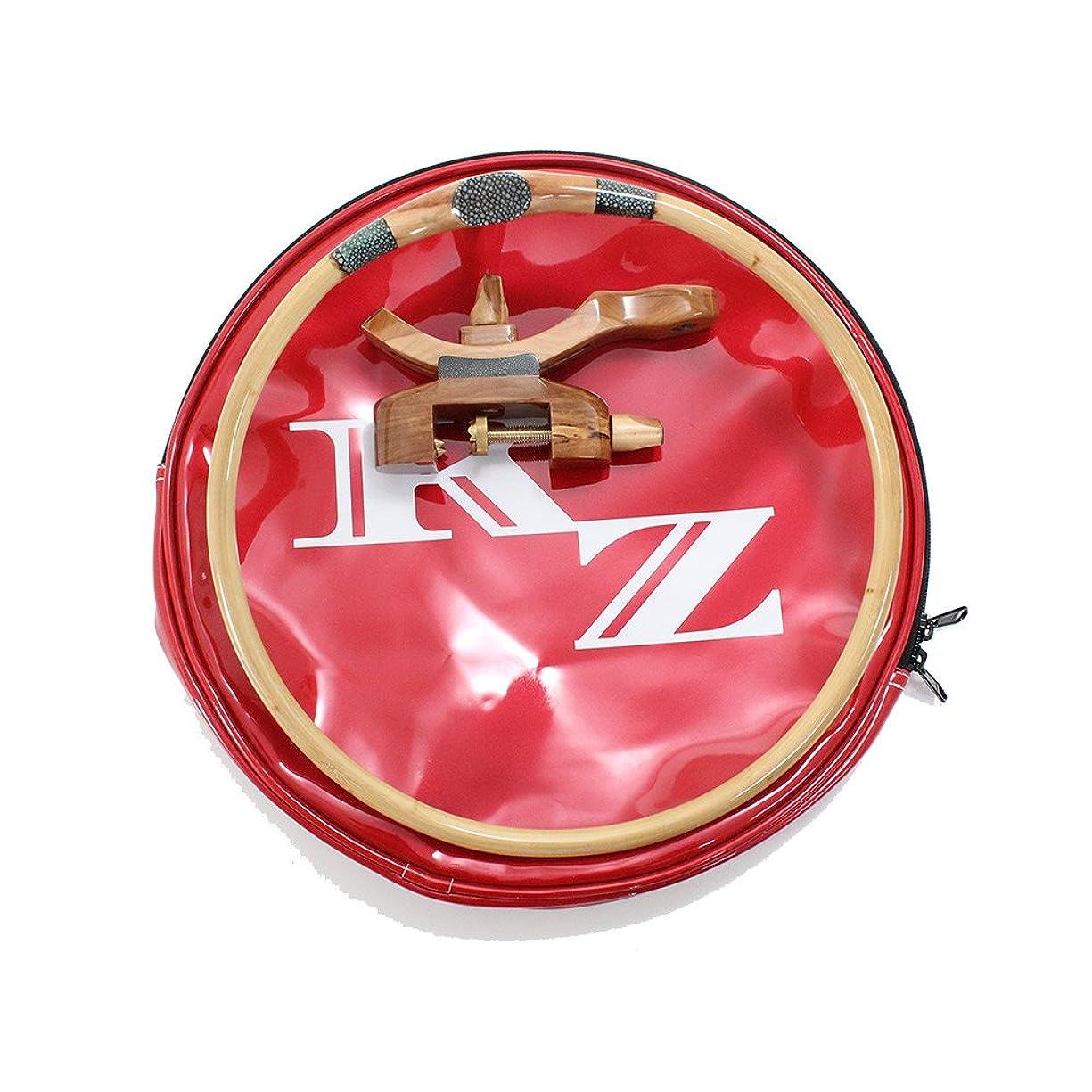 予知配分型風斬 玉置ケース 赤/白 + 風斬 銘木 玉置セット (50250-50280)