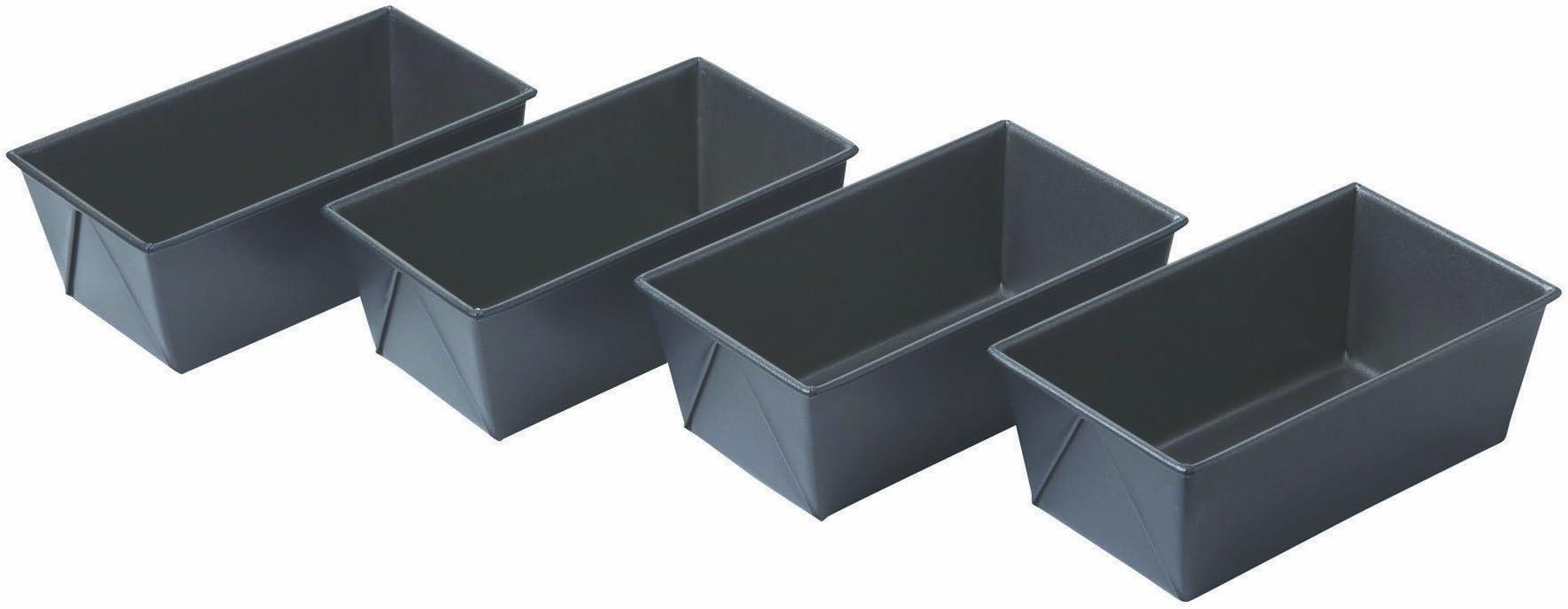 Chicago Metallic Non Stick Mini Loaf Pans, Set of 4