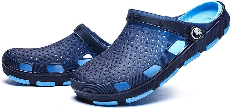 Dilunsizrf Seali in plastica per Coppia Sautope Impermeabili per Esterni Sautope con Foro Pantofole Traspiranti Estivi Seali da Spiaggia,blu,40