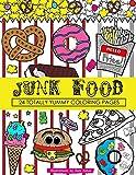 Junk Food Coloring Book: 24 Page Coloring Book (Dani Kates Food Coloring Books)