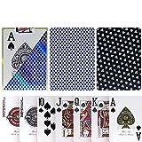 TX GIRL Juego De Tarjetas De Plástico Texas Hold'em Esmerilado Antideslizante Impermeable Lavable De PVC Poker Club Palabra Grande Juego De Mesa De Póker del Casino Azul - 1 Cubierta