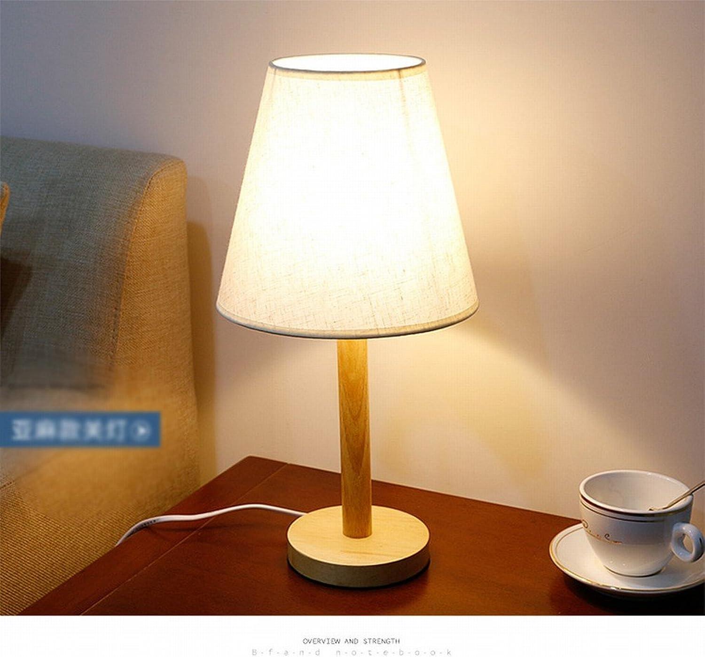 Schlafzimmer Nachttisch Holz Tischlampe Moderne Einfache Mode Garten Licht Holz Holz Tischlampe,EIN