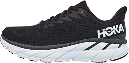 Hoka One One Clifton 7 Sneakers Heren Zwart/Wit Lage Sneakers Shoes
