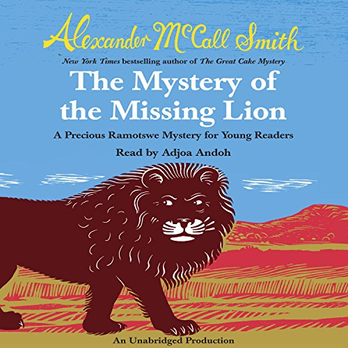 The Mystery of the Missing Lion audiobook cover art