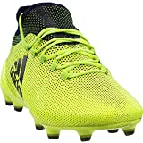 adidas Copa X 17.1 FG Cleat - Men's Soccer 8 Solar Yellow/Legend Ink
