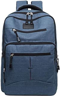 Dengyujiaasj Backpack, Men and women big capacity computer canvas travel boarding backpack Desirable for outings/hiking/sc...