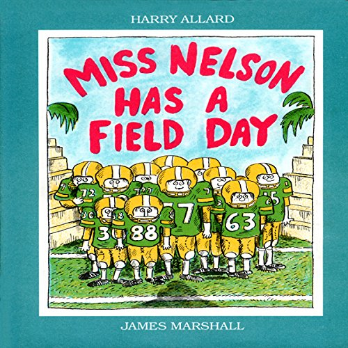 Miss Nelson Has a Field Day audiobook cover art