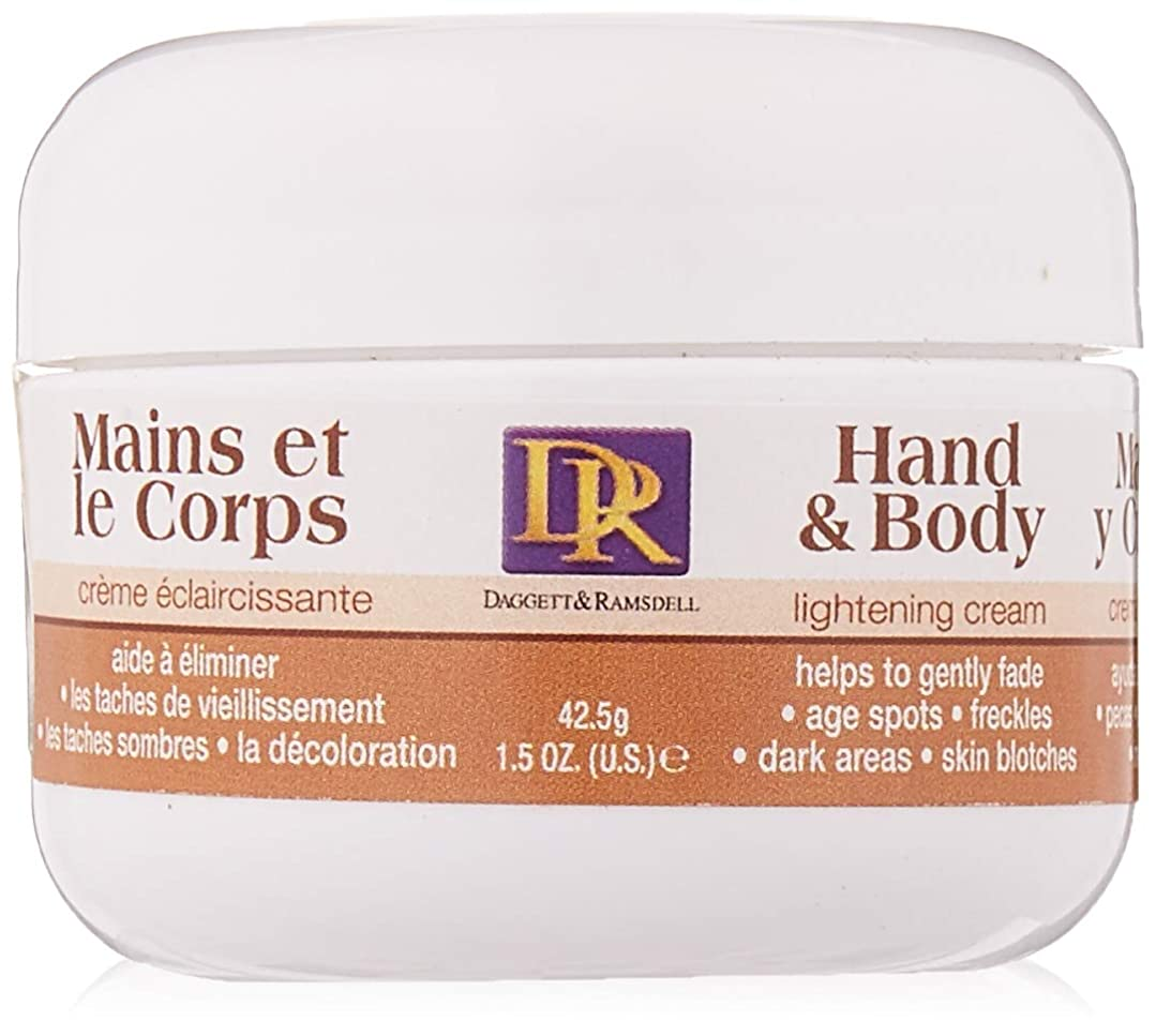 ベギン恐れる若者Dagget & Ramsdell Skin Bleach Hand And Body Cream (並行輸入品)