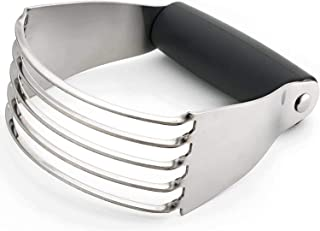Pastry Dough Blender, Stainless Steel 5 Blades Pastry Cutter For Mixing Butter, Flour, and More