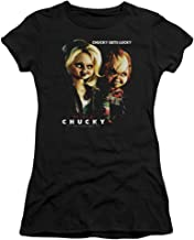 Bride of Chucky Chucky Gets Lucky Juniors Premium T-Shirt