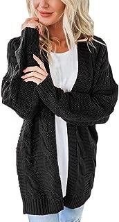 Women's Long Sleeve Knitwear Open Front Cardigan Sweaters Casual Outerwear