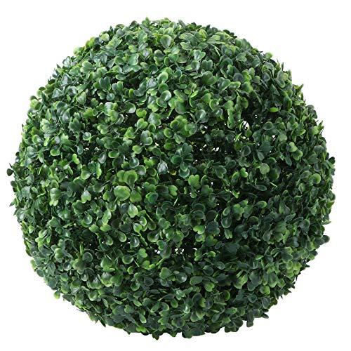 ABOOFAN Bola de hierba artificial colgante bola de la planta decoración de la bola de la hierba para el hogar del centro