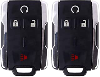 ECCPP Replacement fit for 4 Buttons Uncut Keyless Entry Remote Control Car Key Fob Shell Case 07-14 Acura RDX Acura TL Acura MDX Honda Accord Acura TSX//Acura ZDX IYZFBSB802 Pack of 2