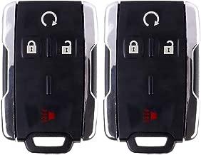 ECCPP Replacement fit for Keyless Entry Remote Key Fob Shell Case Chevrolet Colorado SuburbanTahoe Silverado 1500 2500 HD 3500 HD/GMC Yukon Sierra 1500 2500 HD 3500 HD M3N32337100 (Pack of 2)