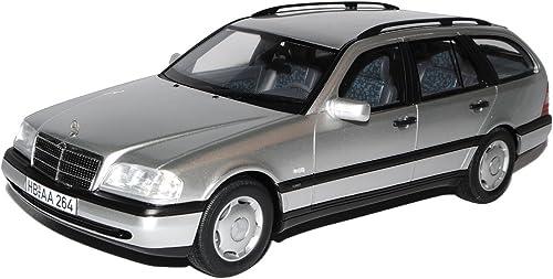 BOS Mercedes-Benz C-Klasse Kombi T-Modell W202 Silber 1993-2001 1 18 Modell Auto