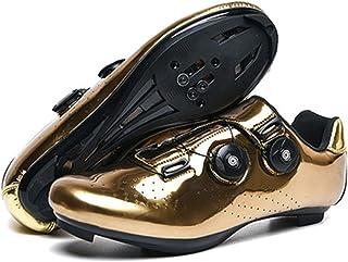 LOCGFF Chaussures De Vélo, Chaussures De Vélo Unisexes, Chaussures De Vélo De Route, Chaussures De Verrouillage De Vélo, A...