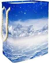 Laundry Bag Blue Sky Bright Stars Heaven Large Storage Bin Storage Basket Clothes Laundry Hamper Toy Storage Bin
