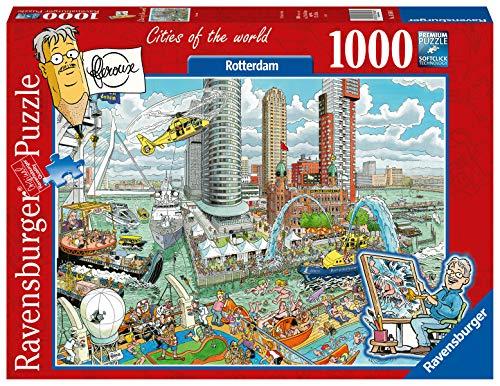 Ravensburger Fleroux Rotterdam - Puzzle (1000 piezas)