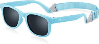 Nacuwa Baby Sunglasses - 100% UV Proof Sunglasses for Baby, Toddler, Kids - Ages 0-2 Years - Case and Pouch included - coolthings.us