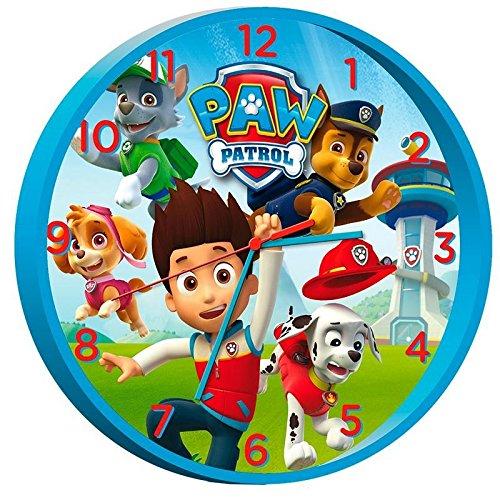 Reloj pared de Paw Patrol La Patrulla Canina