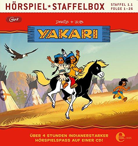 Yakari - Hörspiel Staffelbox - Staffel 1.1, Folge 1 bis 26 als mp3-CD - Die Original-Hörspiele zur TV-Serie
