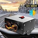 MASO 12V 500W Car Heater,Car Defroster,Truck Fan Heating Warmer Demister For Vehicle RV SUV
