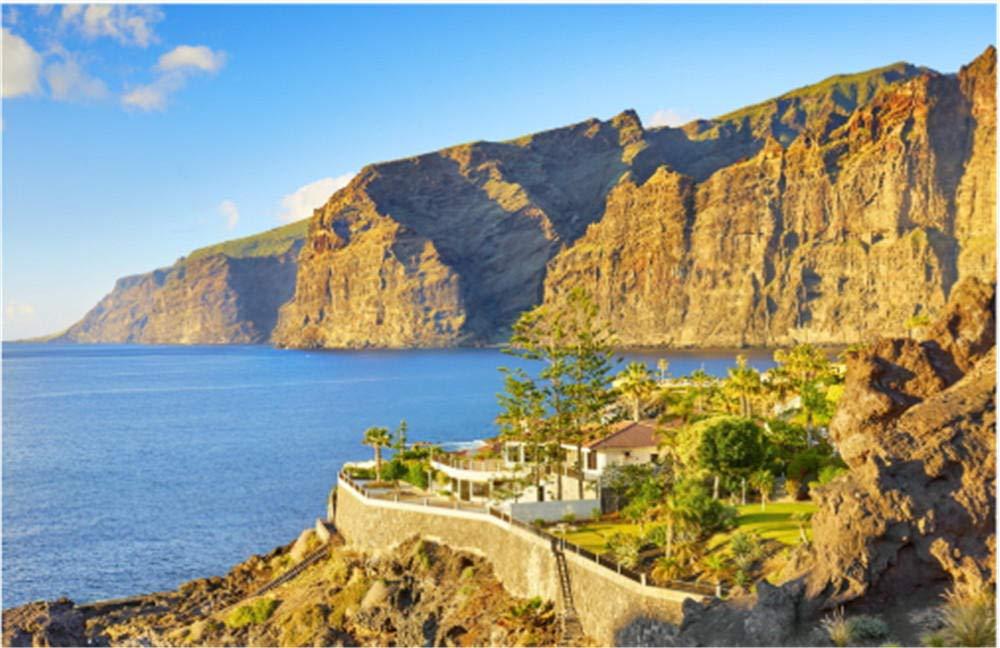 ZZXSY Puzzle 1000 Piezas Acantilado Los Gigantes Islas Canarias Tenerife España Se Puede Usar como Regalo De Cumpleaños: Amazon.es: Hogar