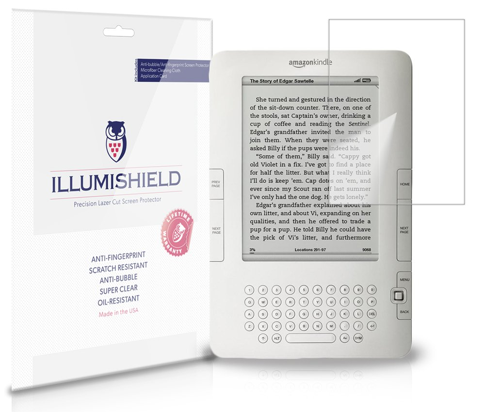 Amazon Kindle Screen Protector iLLumiShield
