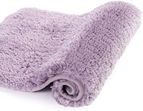 Walensee Bath Rug for Bathroom Non Slip Bathroom Mat (20 x 32, Lavender) Water Absorbent Soft Microfiber Shaggy Bathroom R...