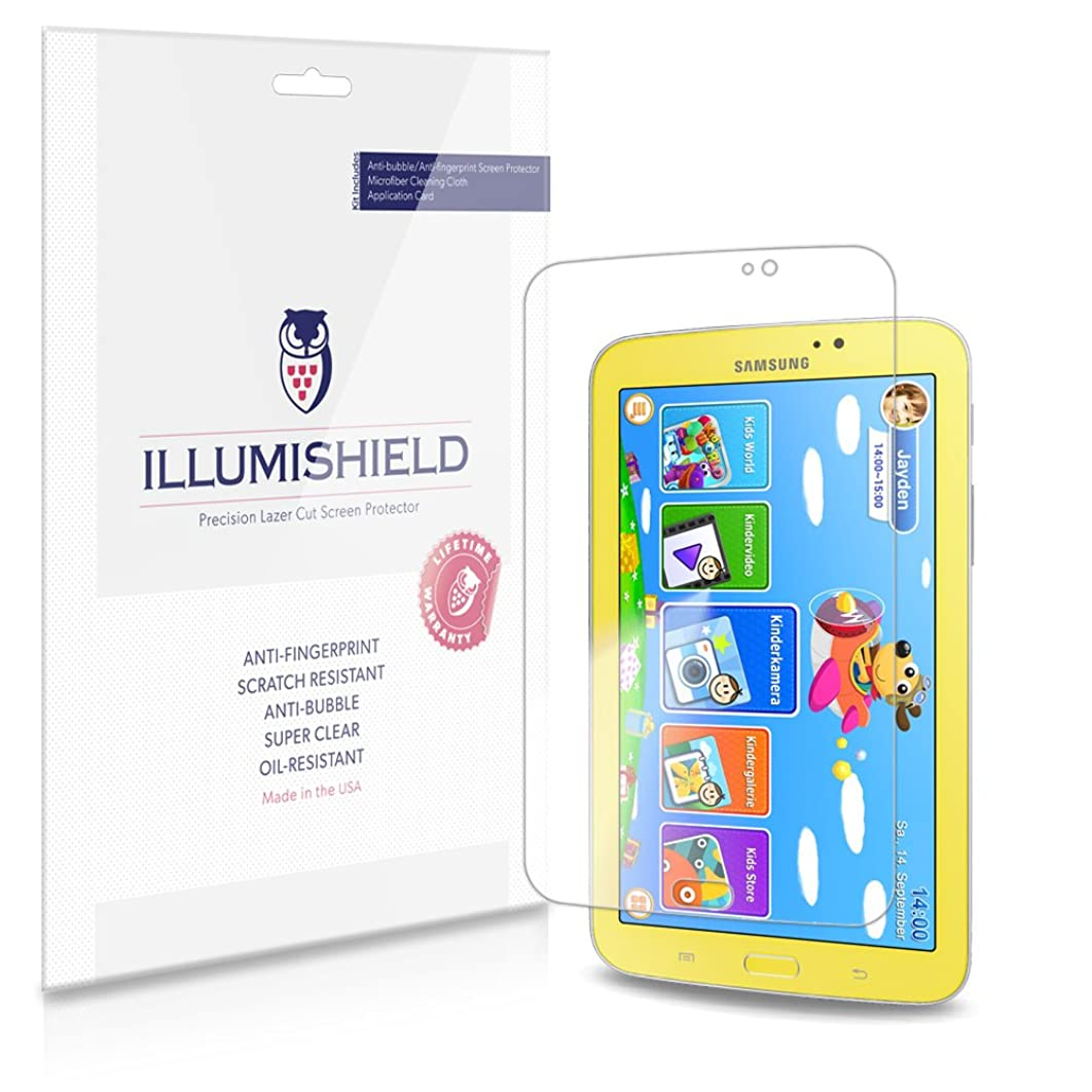iLLumiShield Clear Screen Protector For Samsung Galaxy Tab 3 Kids [3-Pack]