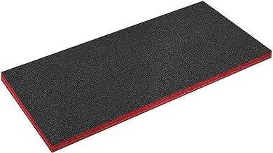 Sealey SF50R 1200 x 550 x 50 mm, gemakkelijk verwijderbaar schuim, rood/zwart, 50 mm