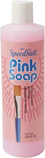Pink Soap 12-Ounce Brush Cleaner and Conditioner (00132-66)