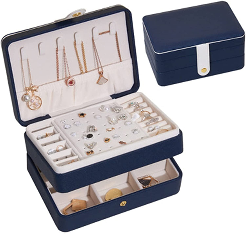 LUBINGT Storage Box New Jewelry online shopping Luxury Portable Layer Organi Double