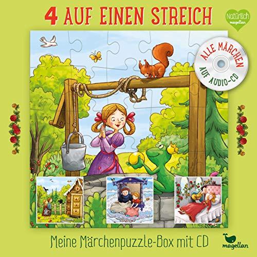 Haba 4 auf einen Streich - Meine Märchenpuzzle-Box (Kinderpuzzle)