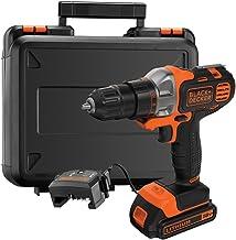 Black+Decker 18V 1.5Ah 10mm Li-Ion Cordless Multi-Evo Multitool Starter Kit with Drill Driver Head for Home, Office & Work...