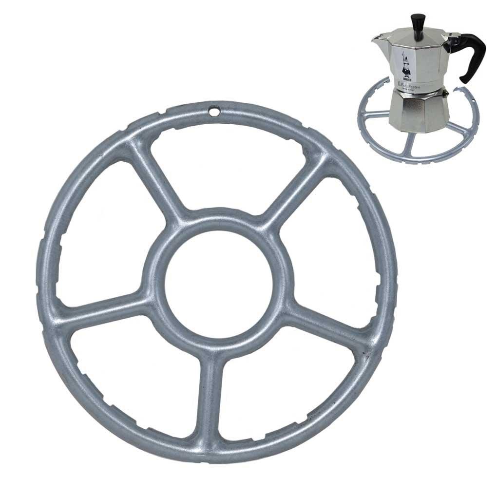 TOME Aleación Multi-función Anillo de Gas Reductor Trivet Estufa Superior Cocina de Cocción Calor a Fuego Lento Cafeteras 15 cm: Amazon.es: Hogar