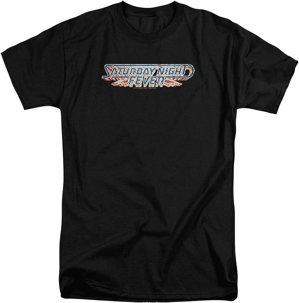 Saturday Night Fever Logo Adult Tall Fit T-Shirt